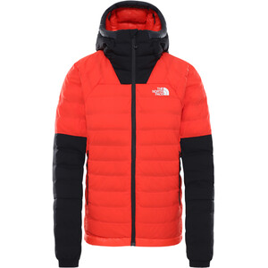 The North Face Summit L3 50/50 Down Hoodie Women flare/TNF black flare/TNF black