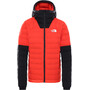 The North Face Summit L3 50/50 Down Hoodie Women flare/TNF black