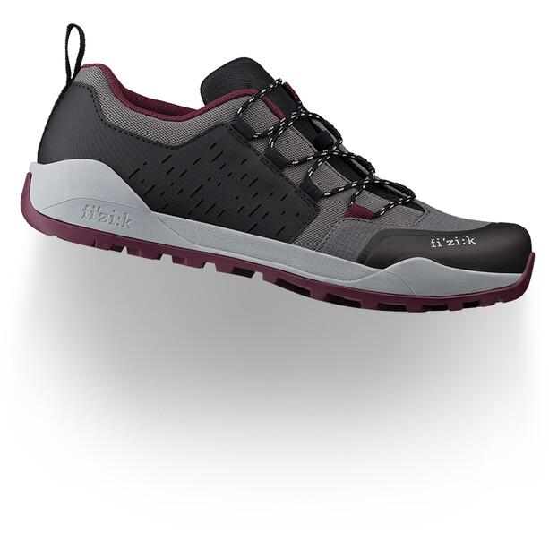 Fizik Terra EL X2 Chaussures VTT Homme, anthrazit/grape