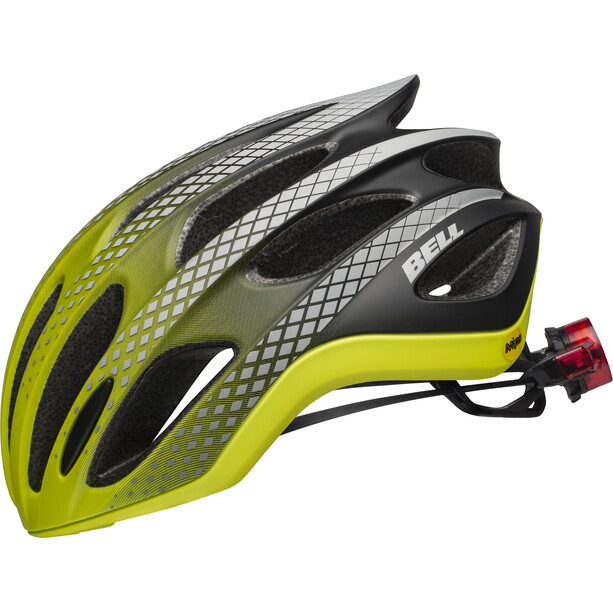 Bell Formula Ghost LED Mips Helmet, jaune/noir