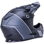 Kali Zoka Stripe Helmet Youth, noir/gris