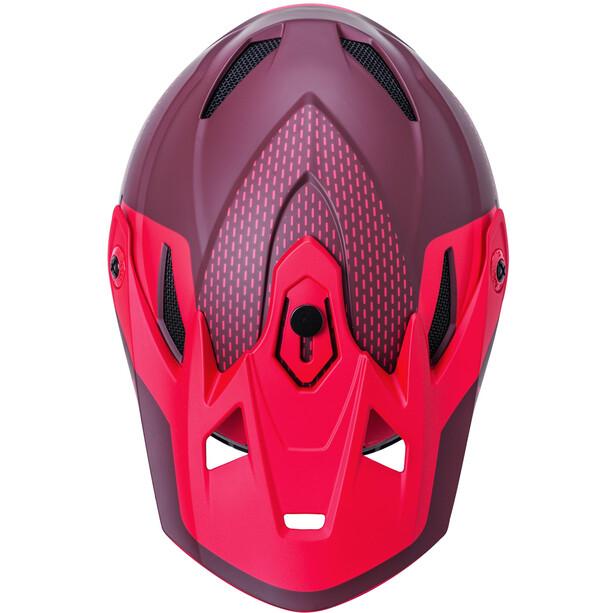 Kali Zoka Dash Helmet Youth, rouge