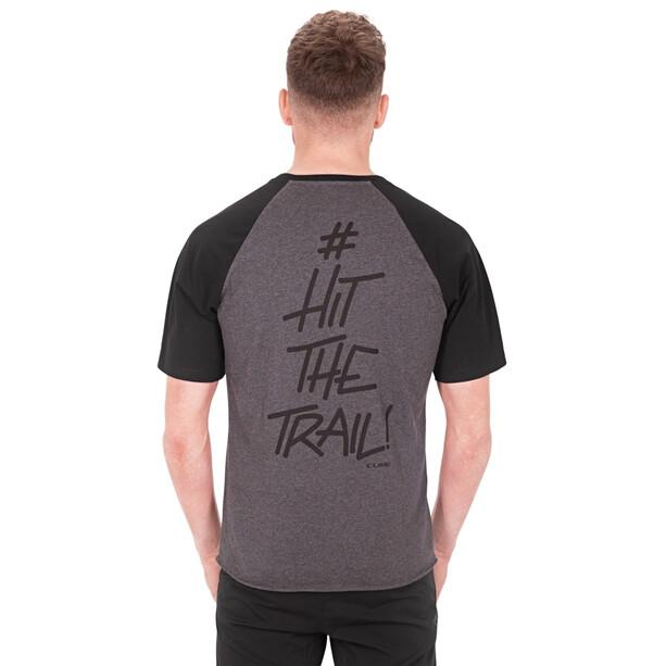 Cube T-Shirt Hit the Trail Herren anthracite melange