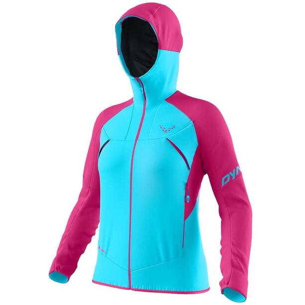 Dynafit Transalper GTX Jacke Damen türkis/pink