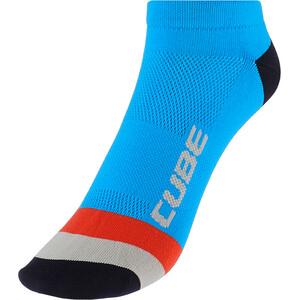 Cube Teamline Low-Cut Socken blau blau