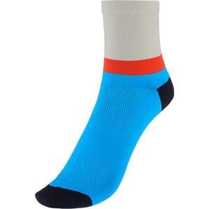 Cube Teamline Mid-Cut Socken blau blau