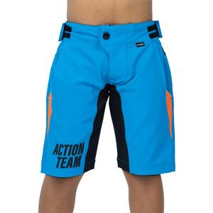 Cube Junior X Actionteam Baggy Shorts Kinder blue´n´orange blue´n´orange