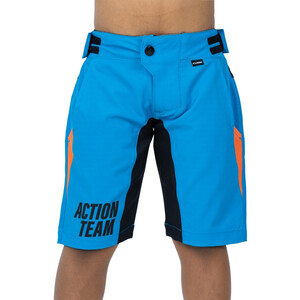 Cube Junior X Actionteam Baggy Shorts Kids, blue´n´orange blue´n´orange