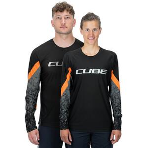 Cube Edge Langærmet cykeltrøje Herrer, sort sort