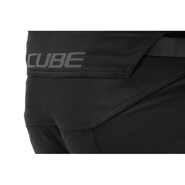 Cube Edge X Actionteam Baggy Shorts Herren black