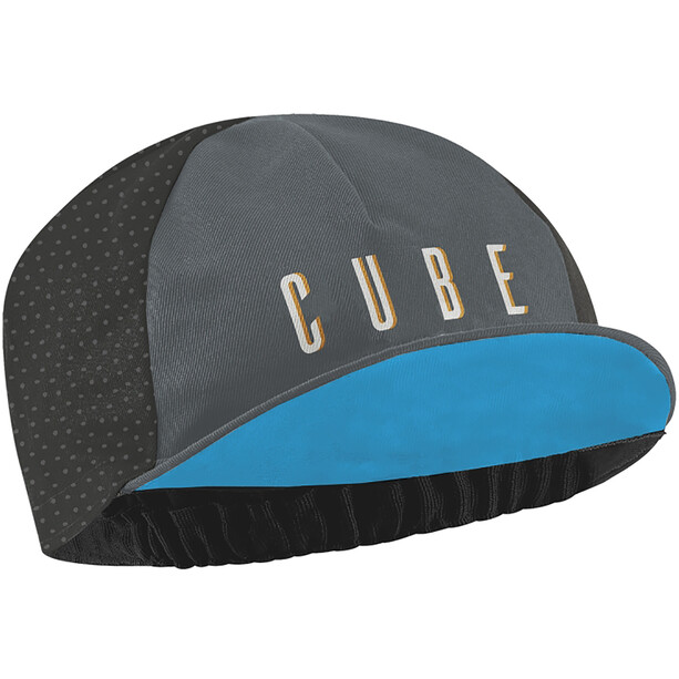 Cube Cross Race Kappe grau/blau