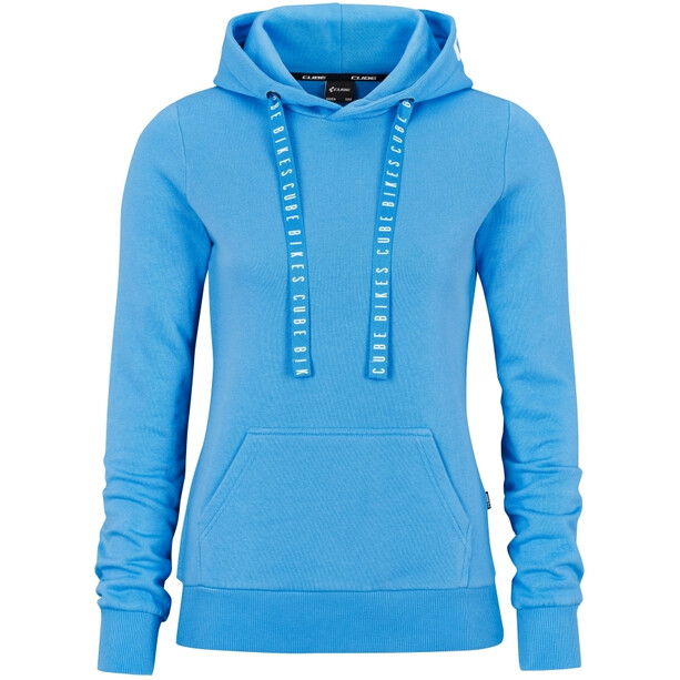 Cube Organic Hoodie Damen blue