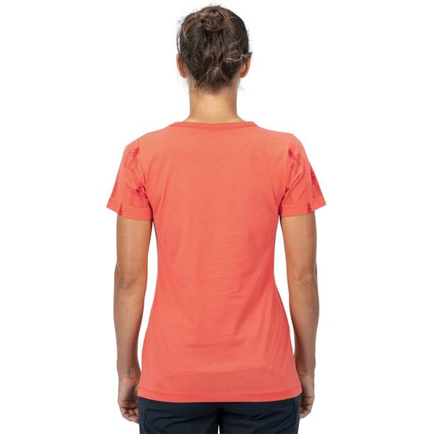 Cube Organic T-Shirt Fichtelmountains Damen orange