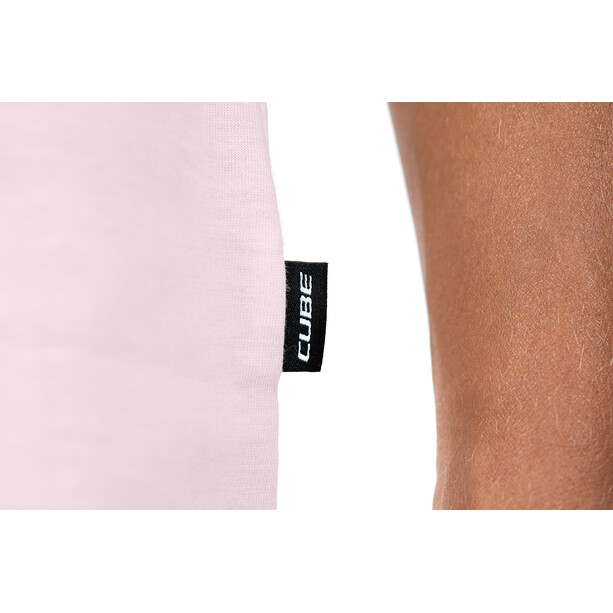 Cube Organic T-Shirt Brand Damen rose