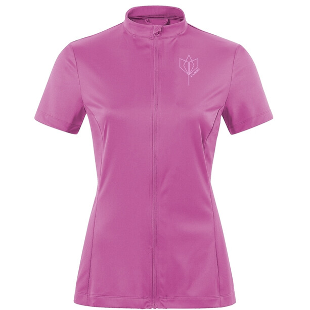 Cube Tour Core Full Zip Kurzarm Trikot Damen violet