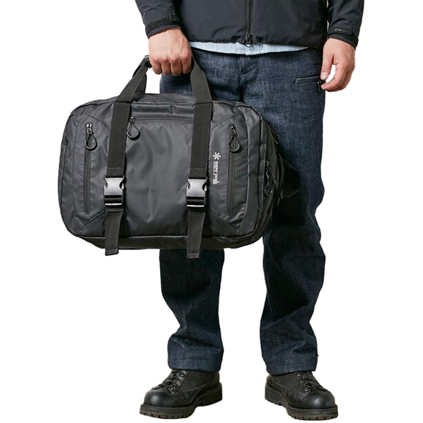 Snow Peak 3way Business Bag black