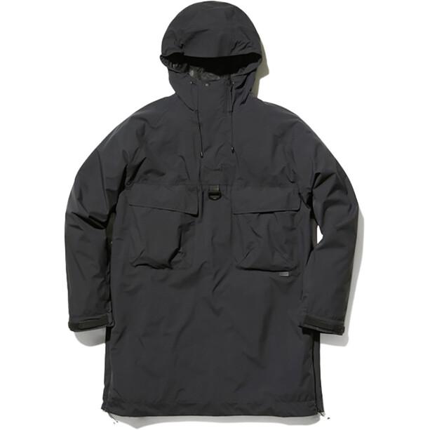 Snow Peak 2L Nylon Rip Poncho black