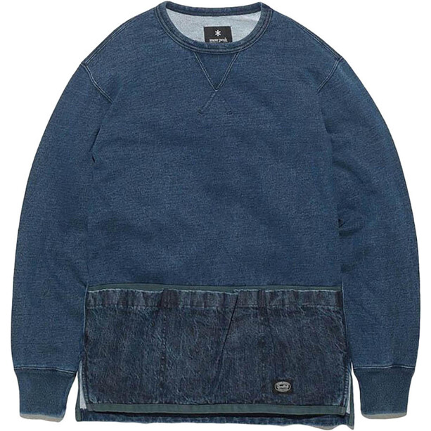 Snow Peak Camping Indigo Sweat indigo