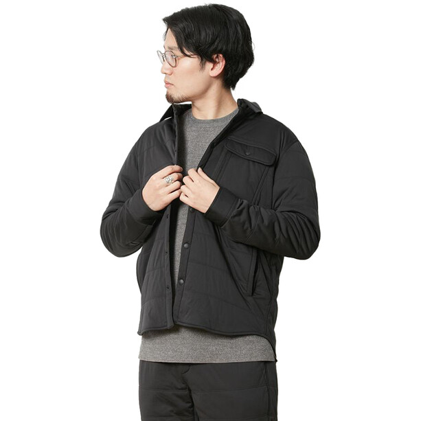 Snow Peak Flexible Insulated Shirt black