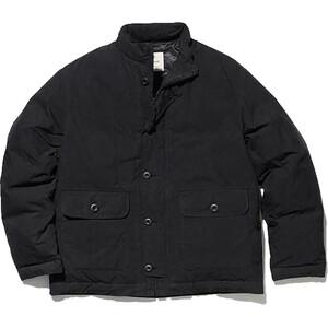 Snow Peak Indigo C/N Down Jacket black black