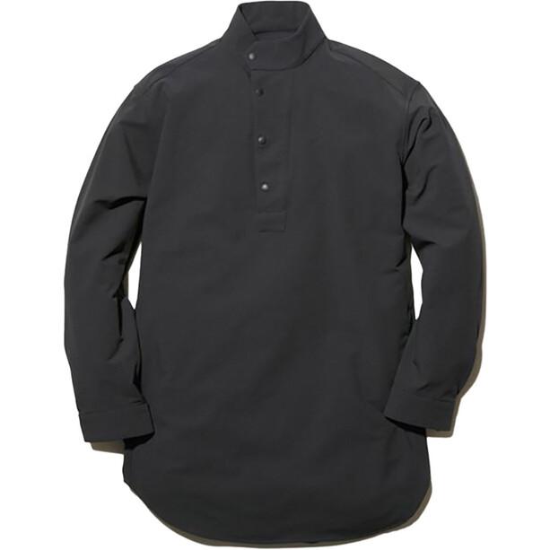 Snow Peak Nylon Power Wool Long Shirt svart