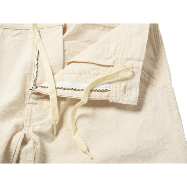 Snow Peak Okayama OX Raw Pants ecru