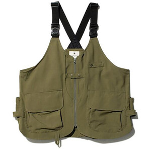 Snow Peak Takibi Vest brown brown