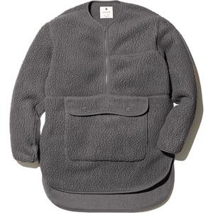Snow Peak Thermal Boa Fleece Pullover grey grey