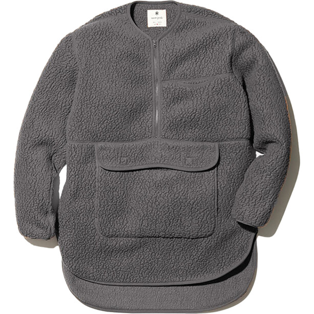 Snow Peak Thermal Boa Fleece Pullover grey