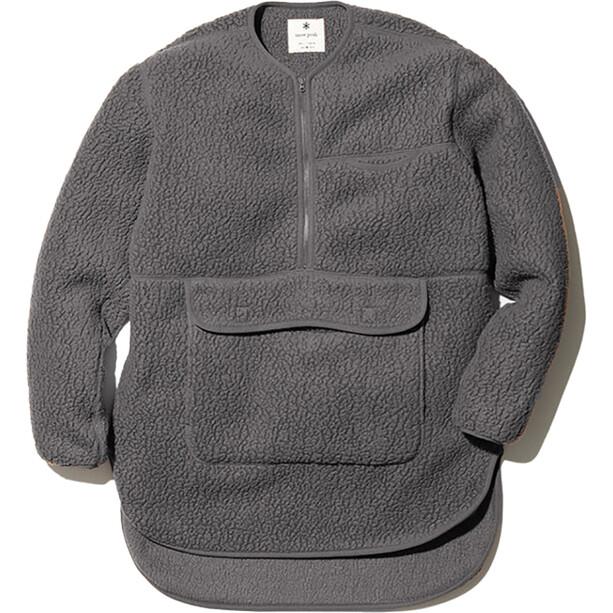 Snow Peak Thermal Boa Fleece Pullover grey