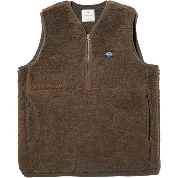 Snow Peak Wool Fleece Vest oliv