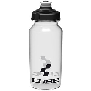 Cube Icon Trinkflasche 500ml transparent transparent