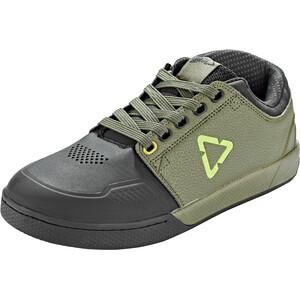 Leatt DBX 3.0 Flat Pedal Schuhe Herren grün/grau grün/grau