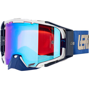 Leatt Velocity 6.5 Iriz Anti Fog Mirror Goggles royal blue royal blue