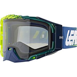 Leatt Velocity 6.5 Anti Fog Beskyttelsesbriller, grøn/blå grøn/blå