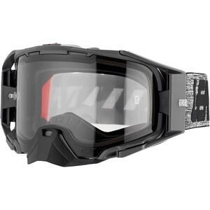 Leatt Velocity 6.5 Anti Fog Beskyttelsesbriller, grå/sort grå/sort