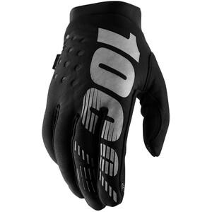 100% Brisker Cold Weather Handschuhe Damen black/grey black/grey