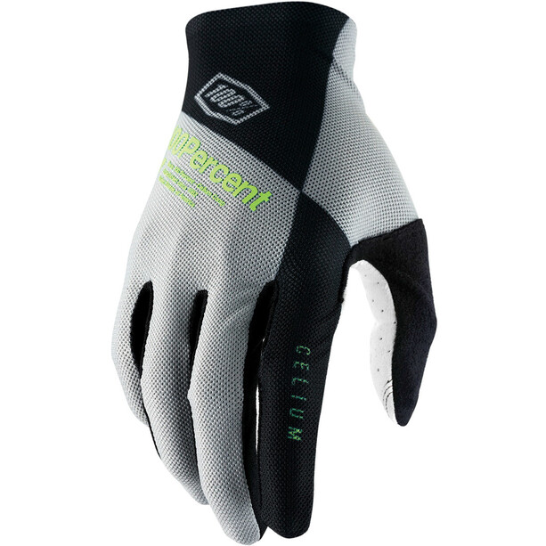 100% Celium Handsker, grå/grøn