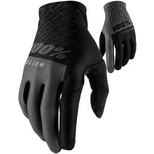 100% Celium Handschuhe schwarz/grau schwarz/grau