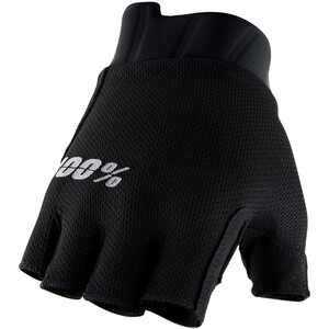 100% Exceeda SF Gloves Gel, zwart zwart