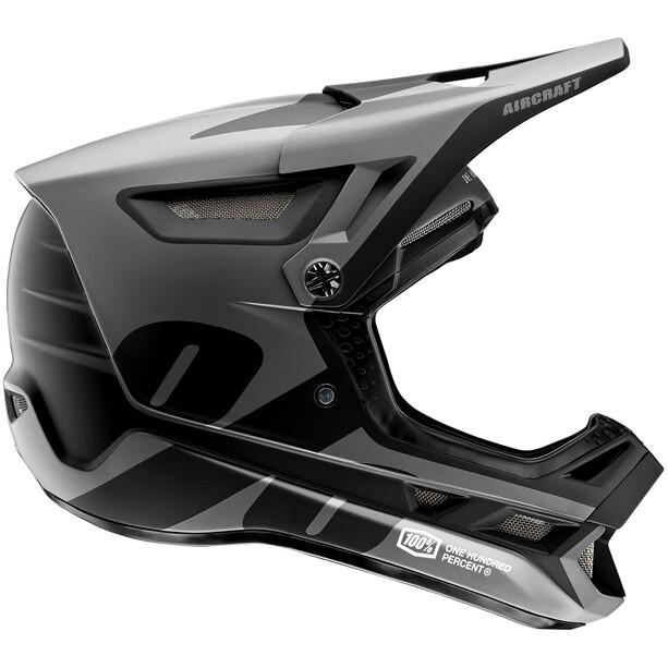 100% Aircraft DH Carbon Helm schwarz