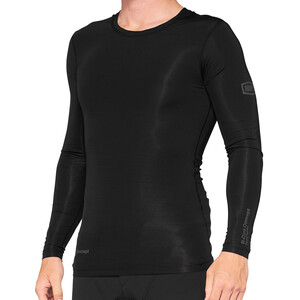 100% R-Core Langarm Trikot Herren schwarz schwarz