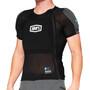 100% Tarka Short Sleeve Protection Vest, musta