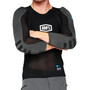 100% Tarka Long Sleeve Protection Vest, musta