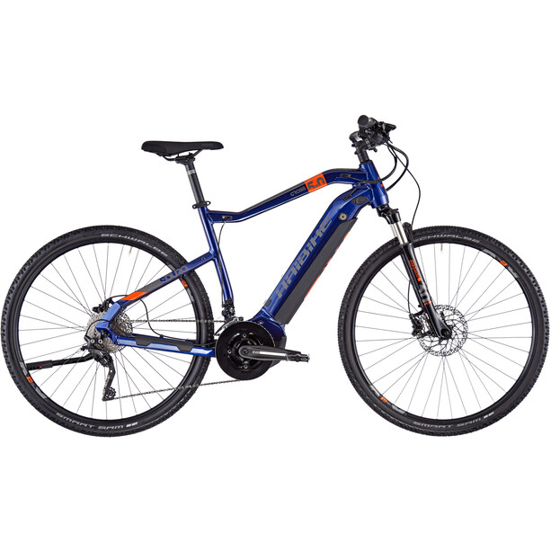 HAIBIKE SDURO Cross 5.0 2. Wahl Men blue/orange/titan