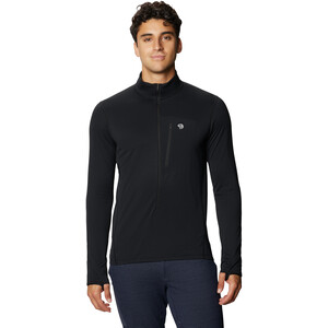 Mountain Hardwear Type 2 Fun 3/4 Zip Pullover Men black black