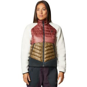 Mountain Hardwear Altius hybridjakke Dame Brun/Rosa Brun/Rosa