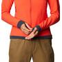 Mountain Hardwear Keele Ascent Hoody Jacket Women fiery red