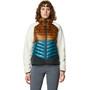 Mountain Hardwear Altius Hybrid Hoody Jacket Women golden brown