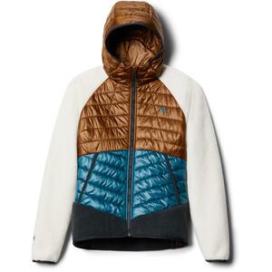 Mountain Hardwear Altius Hybrid Hoody Jacket Women golden brown golden brown